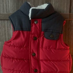 Carter's toddler boy puffer vest NEW